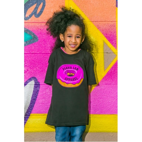 Flava Lab logo -Youth Limited Edition Cancer Awareness T-shirt